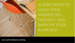10 sure ways to seo