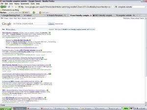 seo friendly complete website