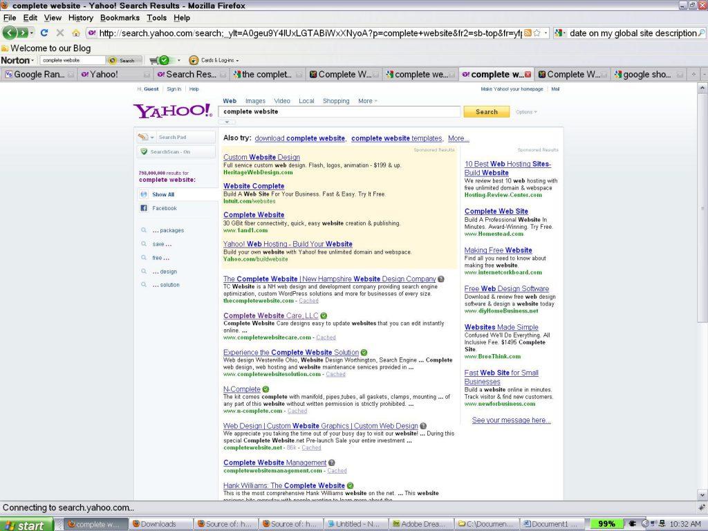 yahoocompletewebsitenoteittakesthenameofwebsite