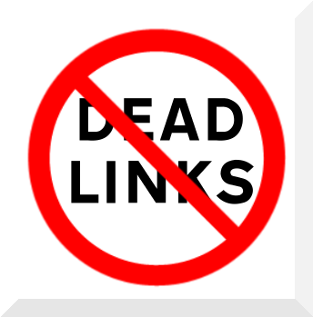no dead links