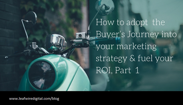 Tap into Your Buyer's Journey for More Marketing ROI, Part 1
