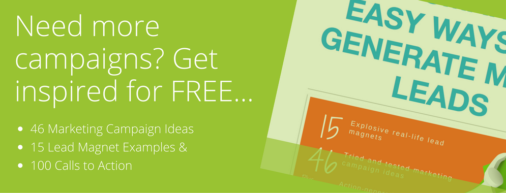 Free eBook with marketing campaign ideas - download today