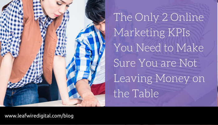 2 digital marketing metrics for success