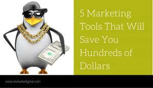 5 marketing productivity tools