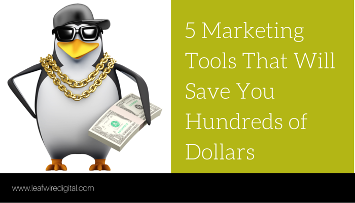 5 marketing productivity tools