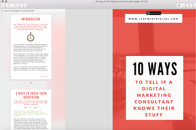 Shrink brochure and ebook production times with Canva