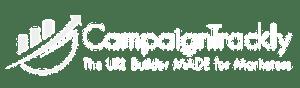 CampaignTRackly logo, white, 400x90