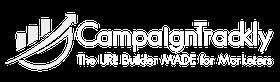 CampaignTrackly logo, white, 280x80