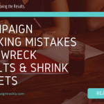 Image showing the title of the blog that talks about campaign tracking mistakes