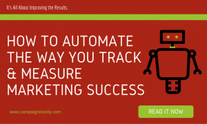 Automated UTM tracking in MArketing