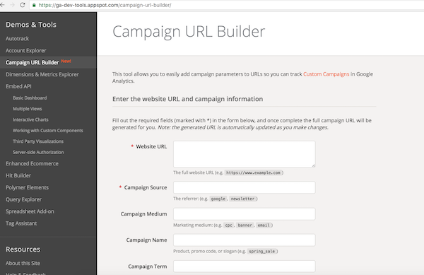This simple tools lets you tag one page at a time for one combo of UTM tags