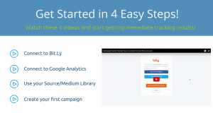 Image showing videos that onboard new CampaignTrackly users