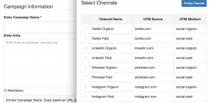 Automated UTM tag generator does all the taggging, building, and shortening work for you