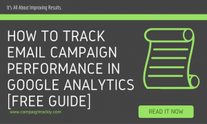 email campaign tracking in GA