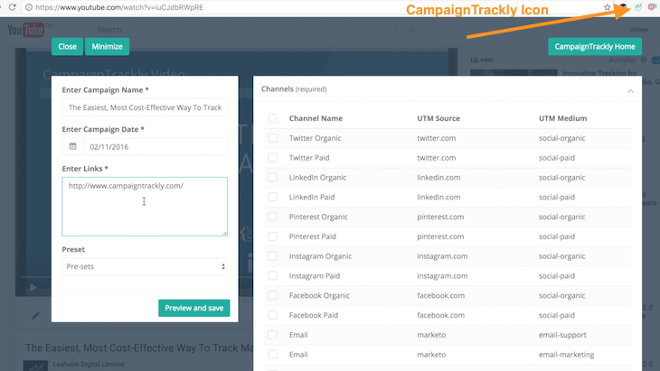 Tracking video success in Google Analytics - using CampaignTRackly to tag my links automatically
