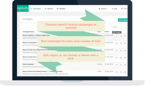 Automated URL Builder Simple View Campaign Dashboard