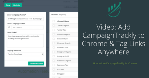 See how CampaignTrackly for Chrome can speed up tracking by to 500%