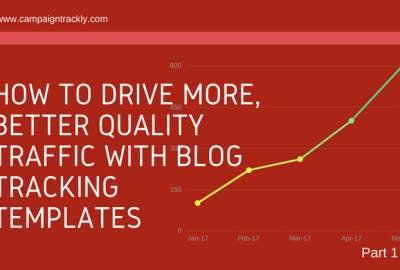 Blog tracking templates for better analytics results