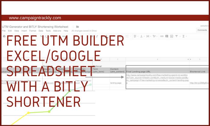 UTM Excel Workshett
