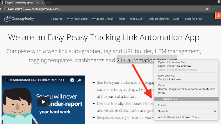 CampaignTrackly Link Tagging – Save Even More Time With These Features