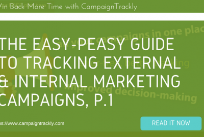 internal and external marketing campaigns are tracked differently
