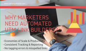 Why Marketers need automated UTM Tag Makers?