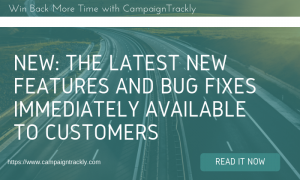 CampaignTrackly v2.0 Major Tagging New Functionality and Updates (1)