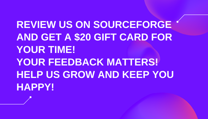 Review us and get $20