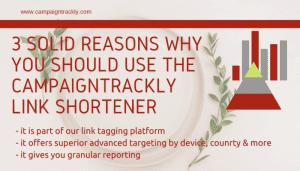URL LInk Shortener in one platform with link tagging UTM builder